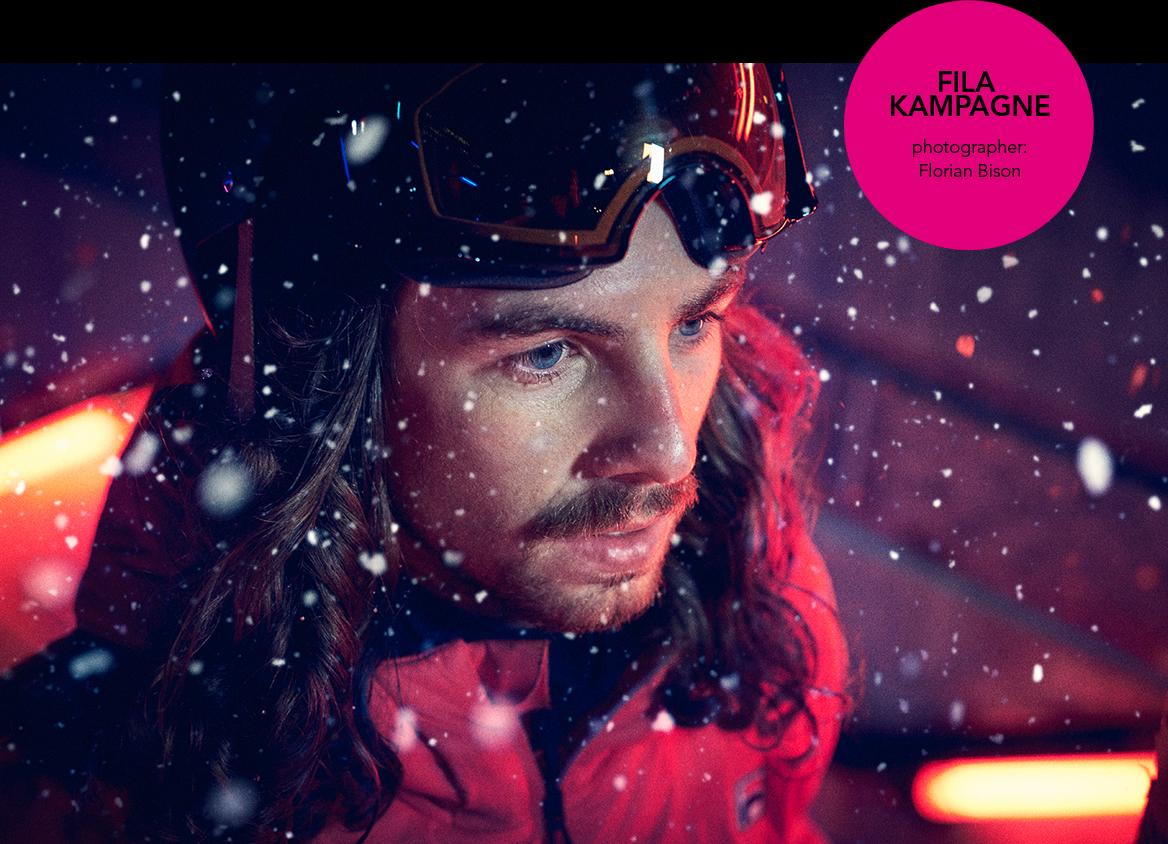 Lookentwicklung, Composing und Beauty Retusche für die Fila Kampagne 2016 – Fotograf: Florian Bison